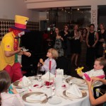 Clown August bei seiner Clownshow in Gelsenkirchen
