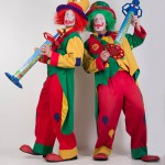 auf diesem bildl sieht man die Clown AUgust und Clown Pippy von den ClownsBrothers aus Bochum
