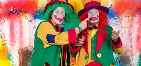 Clown NRW - Clown August & Clown Pippy Kinderzaubershow können Sie für Hochzeiten, Kindergeburtstage, Firmenfeiren, Messen und Schulfeste in ganz NRW buchen.