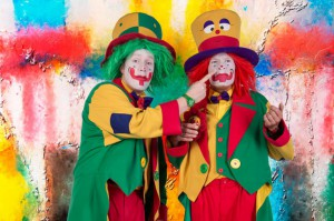 Clown August und Clown Pippy in Herne