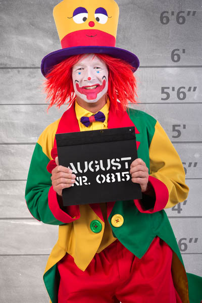 Clown August Startseite (Clown NRW)