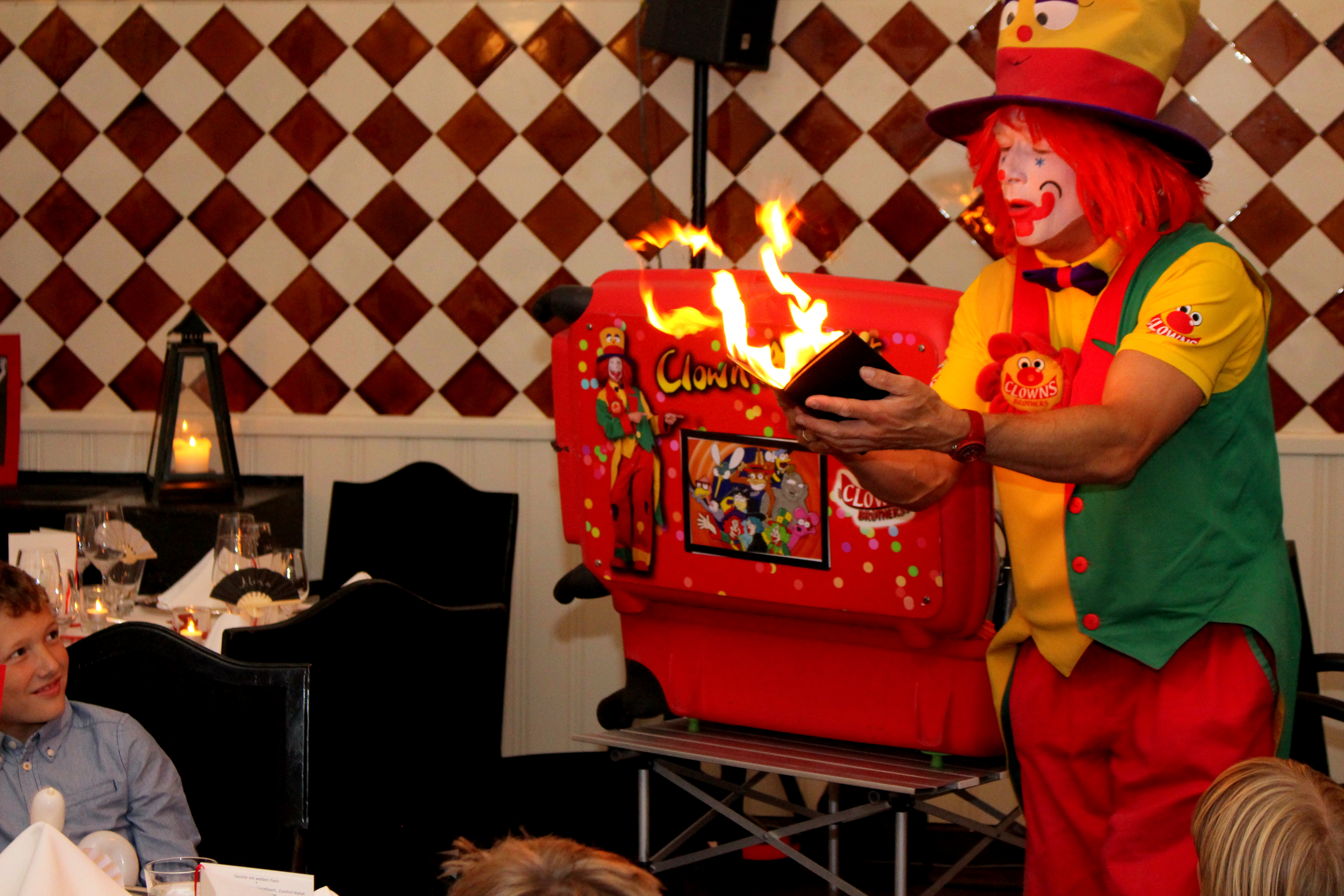 Clown Frankfurt Am Main   Buchen Sie Den Clown August Für Die Hochzeit, Den  Kindergeburtstag