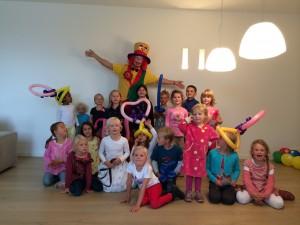 Clown Düsseldorf beim Kindergeburtstag in Düsseldorf.