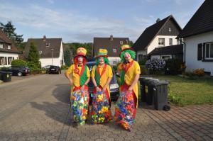 Clown Gelsenkirchen - Partyclown August & Geburtstagsclown Pippy Kinderzaubershow können Sie für Hochzeiten, Kindergeburtstage, Firmenfeiren, Messen und Schulfeste in ganz NRW buchen.