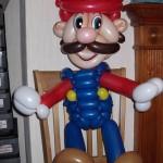 Super Mario als Ballonfigur von den Clownsbrothers aus Bochum