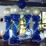 Ballondekoration für eine Hochzeit in Gelsenkirchen
