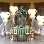Ballondekorationen auf einer Hochzeiten in Dortmund
